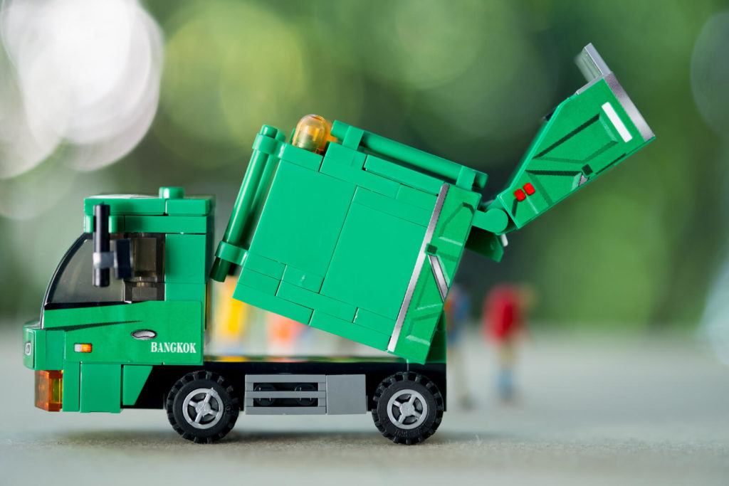 Garbage Truck Accident